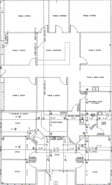 J. Timms and Company, Inc. - Commercial Rental - 110 By Pass 225 , Greenwood, SC - Floor Plan.